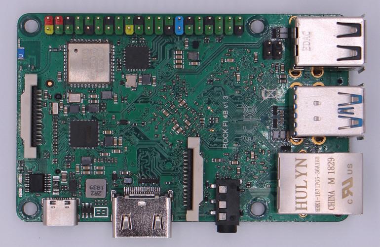 RK3399 Raspberry Pi clone will launch at $39