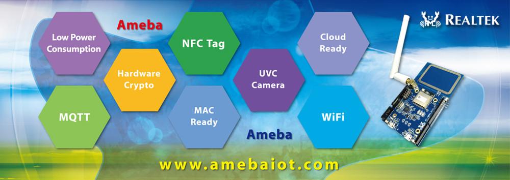 Tiny $2 IoT module runs FreeRTOS on Realtek Ameba WiFi SoC