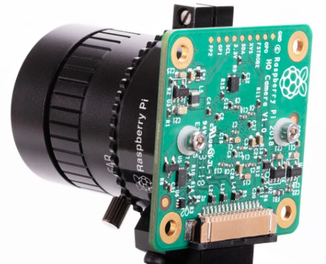 Raspberry Pi High Quality Camera Launches with Interchangeable Lenses