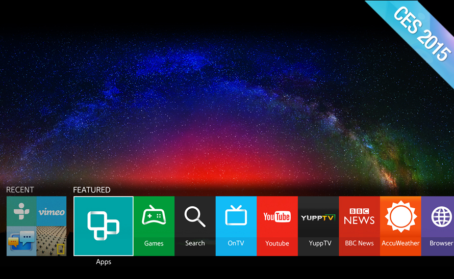 Samsung turns to Tizen for new Smart TVs