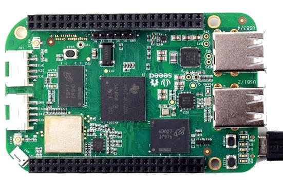 BeagleBone Green Wireless adds WiFi, BLE, USBs