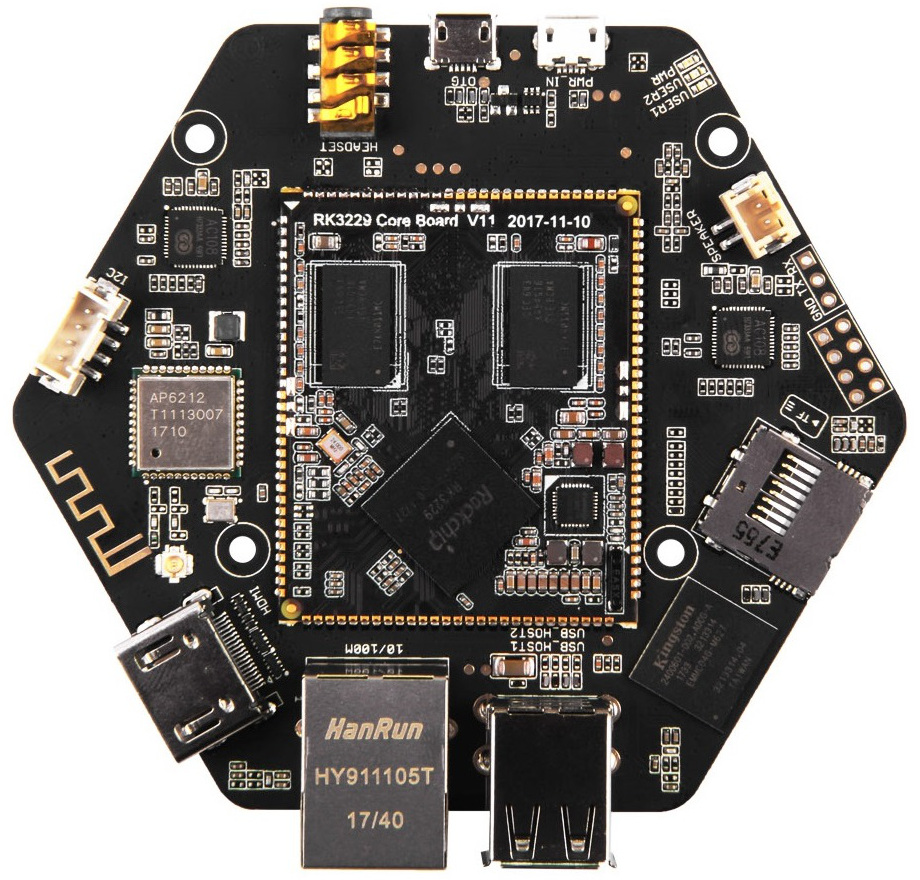 Latest ReSpeaker voice board moves to Rockchip RK3229