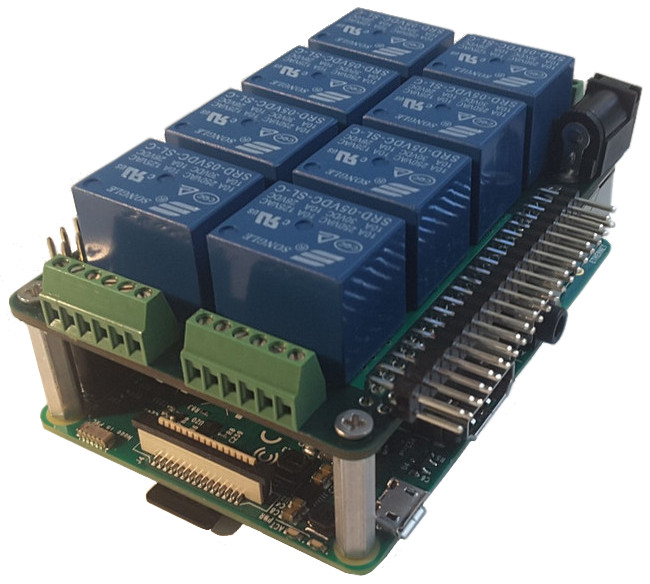Stackable Raspberry Pi home automation
