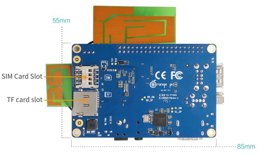 Wireless crazed Orange Pi boasts 4G LTE, WiFi, BT, FM, and GPS