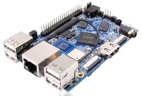 Orange Pi Win Plus Entwicklung Board A64 Cortex-A53 Quad-core 64bit 2GB L1SA