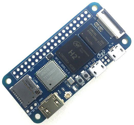 Raspberry Pi Zero W clone offers quad-core power for $15