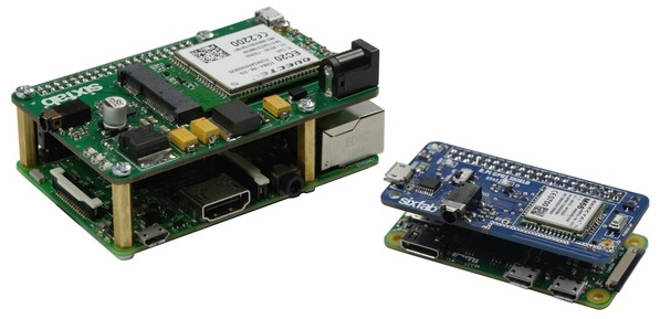 Raspberry Pi shields offer 3G, 4G, GPRS, GPS, and XBee support