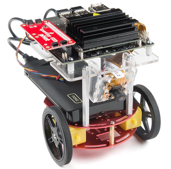 Jetson Nano based robotics kit connects to SparkFun sensors