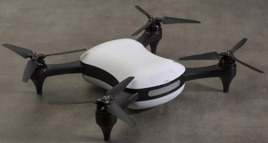 Teal One drone runs Linux on a Jetson TX1 and flies at 60 mph