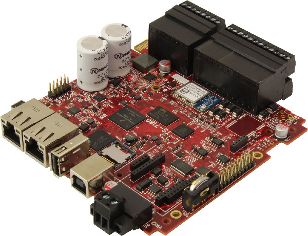 Open-spec, i MX6 UL based SBC features DAQ and wireless features