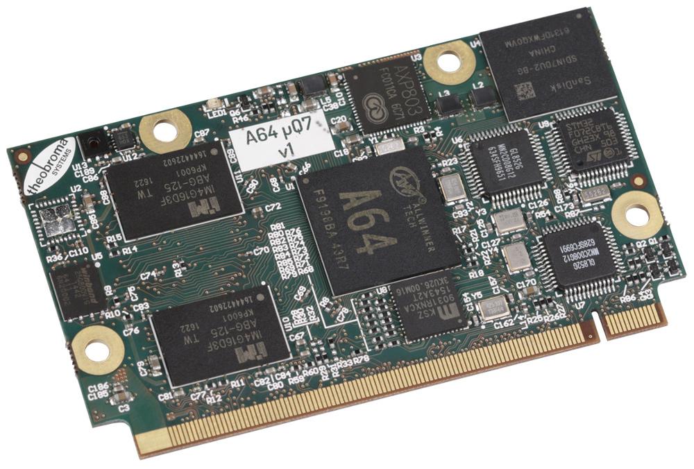 Security-minded µQseven module taps Allwinner A64