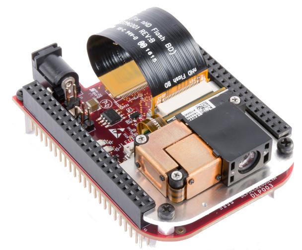 TI's $99 DLP pico projector board connects to BeagleBone Black