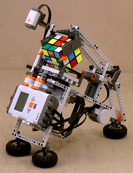 build your own rubik 39 s cube solving robot. Black Bedroom Furniture Sets. Home Design Ideas
