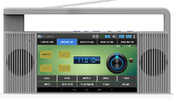 Portable Android SDR player supports DRM and DAB