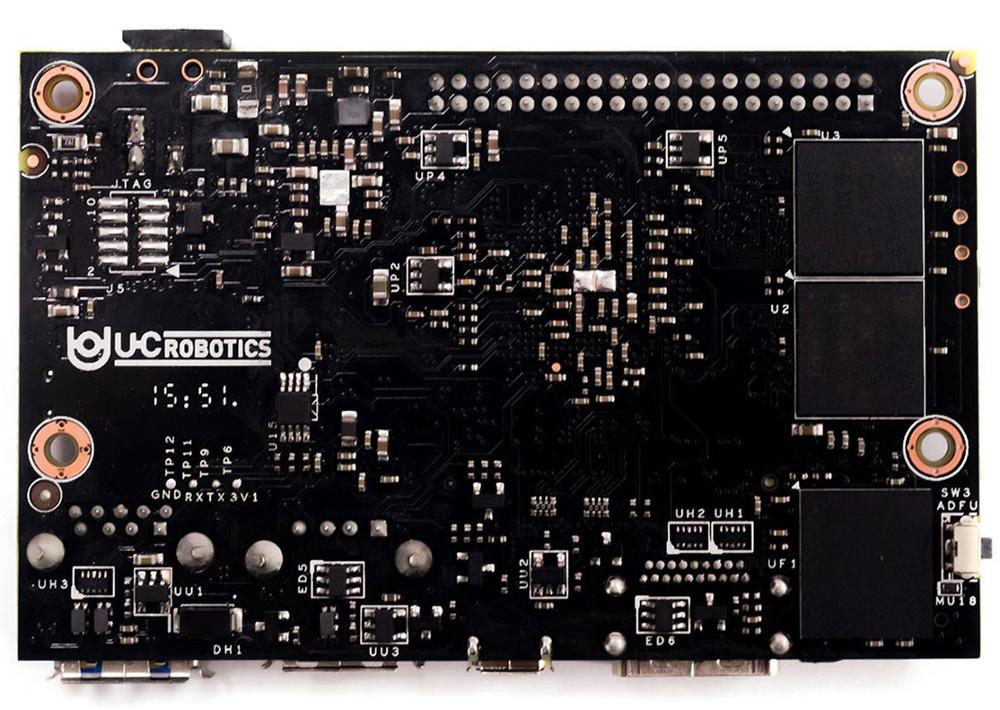 Quad-core, Cortex-A53 hacker SBC runs Linux and Android