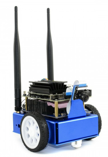 Robot kit builds on Jetson Nano