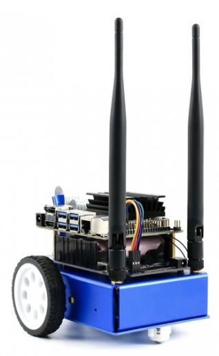 Robot kit builds on Jetson Nano
