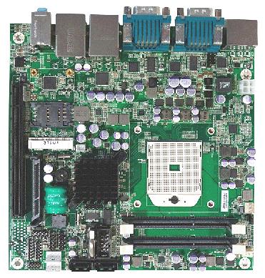 Mini-ITX SBC runs Linux on quad-core AMD R-Series APU