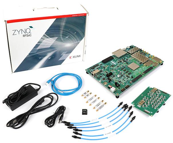 SDR dev kit builds on Zynq UltraScale+ RFSoC